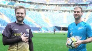 «Зенит» VS freekickerz на стадионе «Санкт-Петербург»